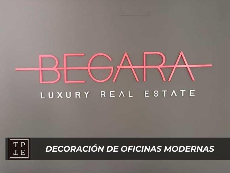 Decoración de oficinas modernas: Inmobiliaria Begara