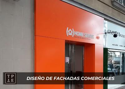 Diseño de fachadas comerciales: Home Server