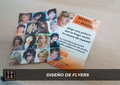 Diseño de flyers en Madrid: Elite Hair