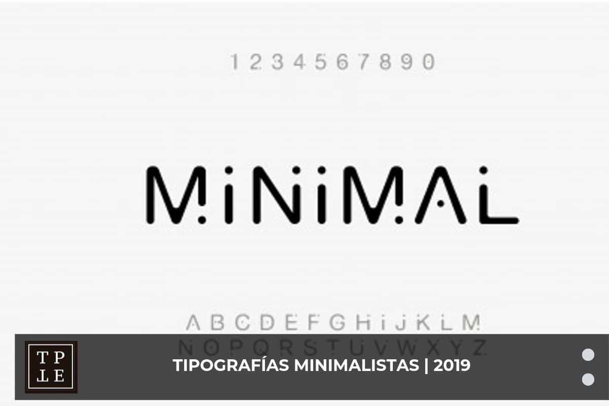 tipografias minimalistas