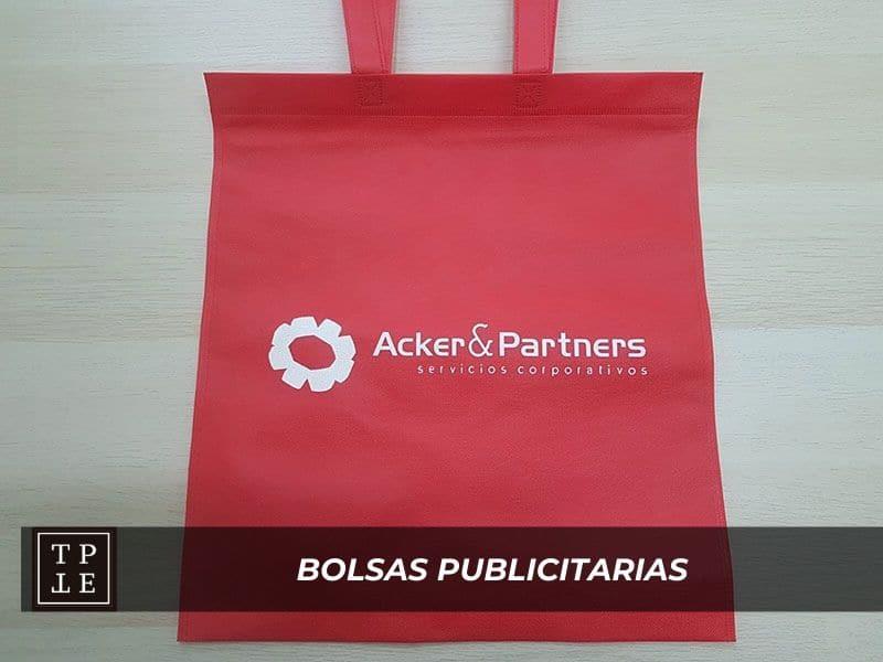 Bolsas publicitarias: Acker & Partners