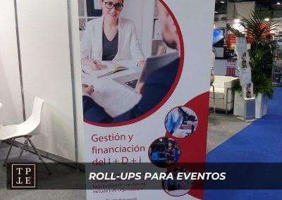Rollups para eventos: Acker & Partners