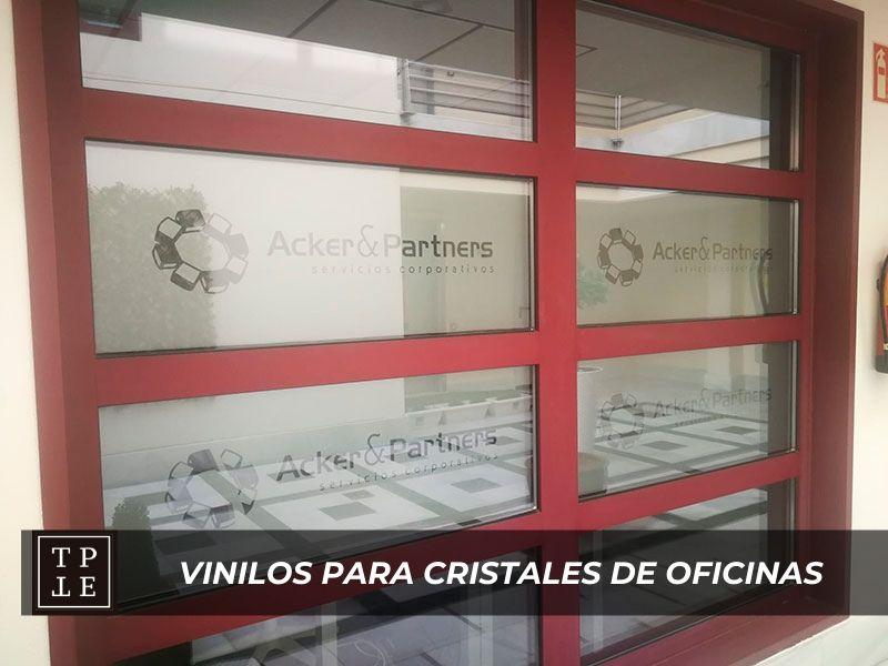 Vinilos para cristales de oficinas: Acker